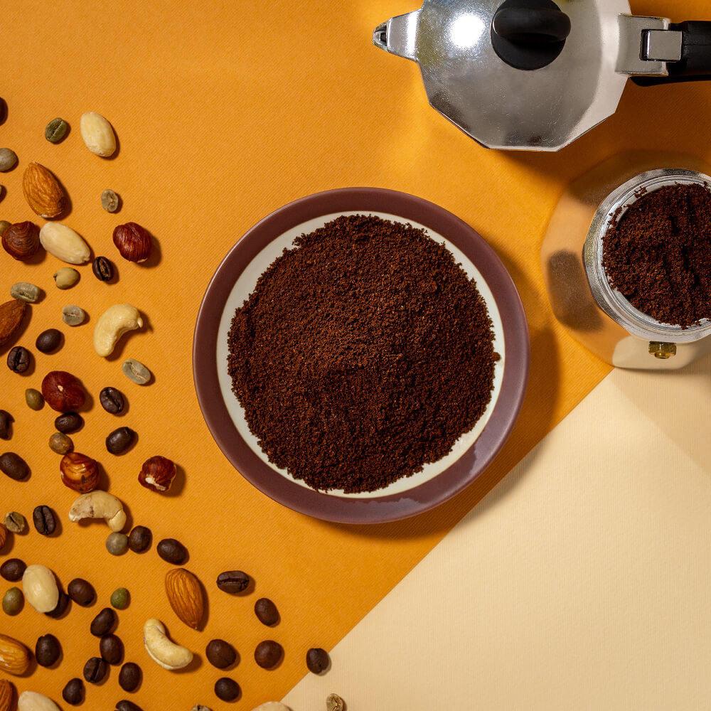 Macinato – Caffè miscela Casa Felmoka
