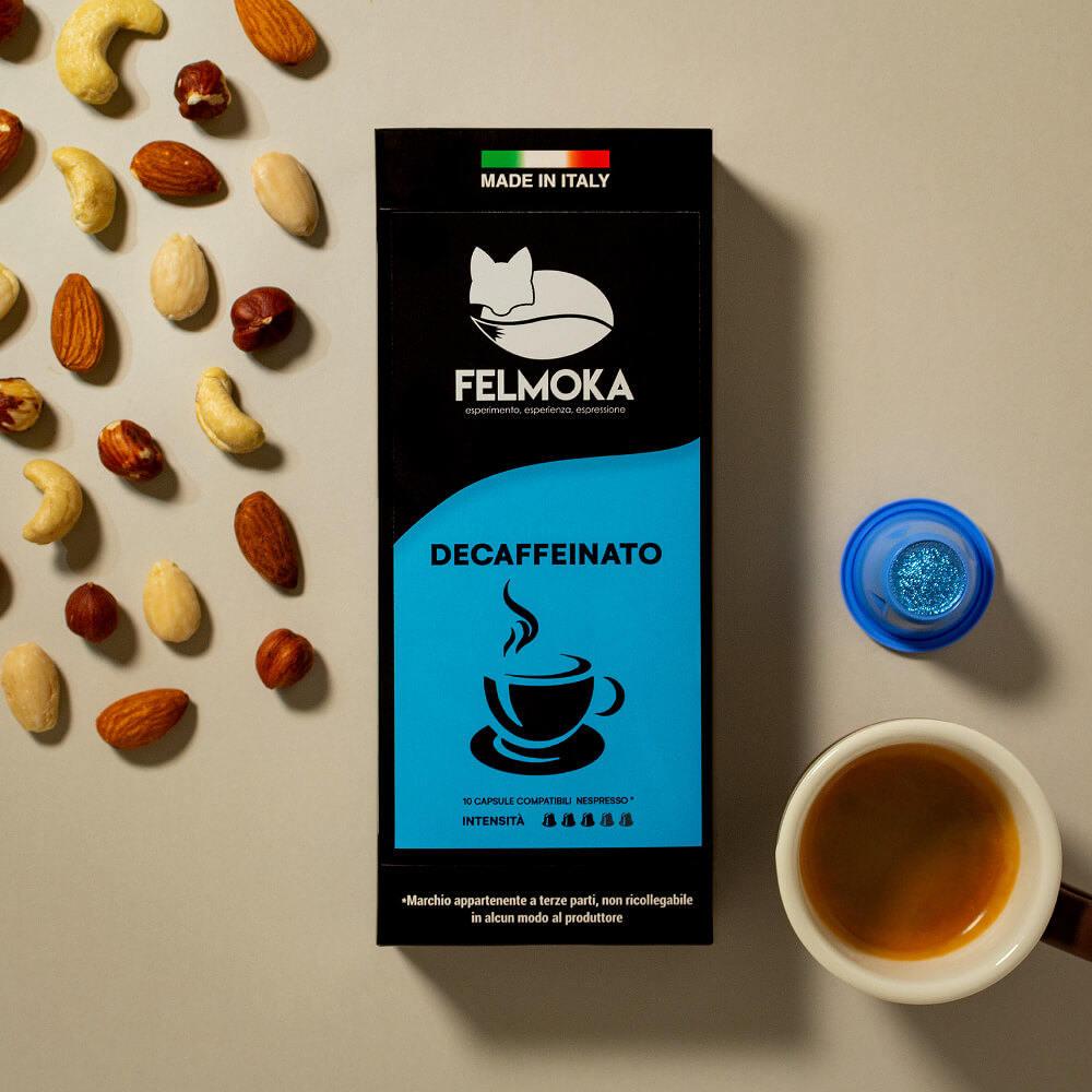 Capsule Decaffeinato Compatibili Nespresso conf. da 10 pezzi
