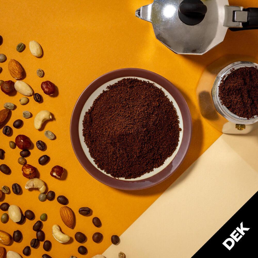 Macinato Dek – Caffè miscela Casa Felmoka