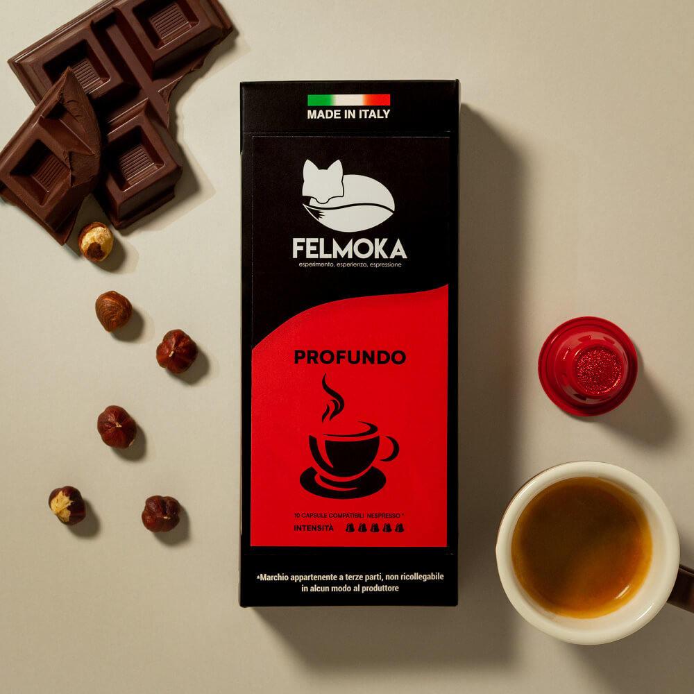 Capsule Profundo Compatibili Nespresso conf. da 10 pezzi