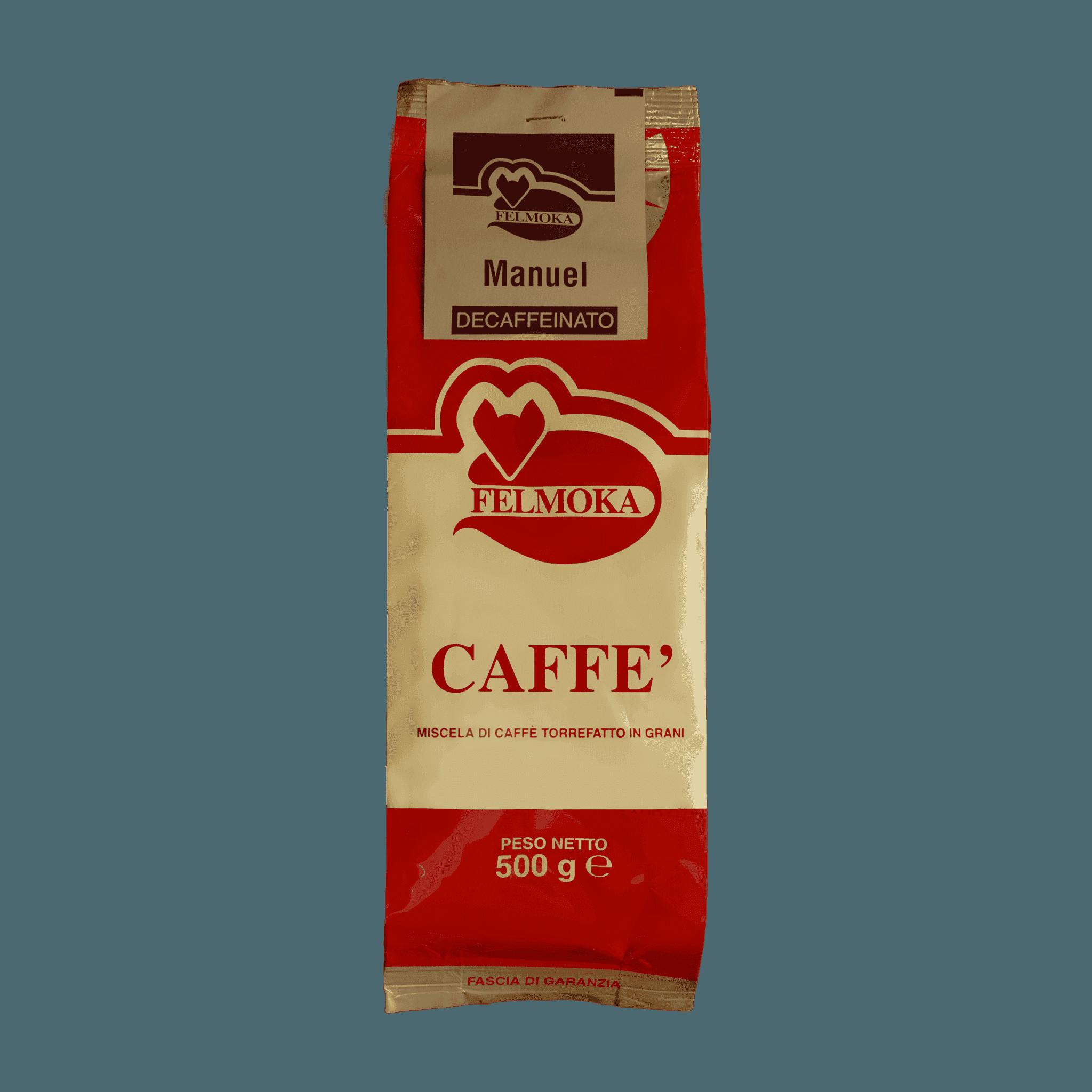 Caffè miscela Casa Felmoka Dek