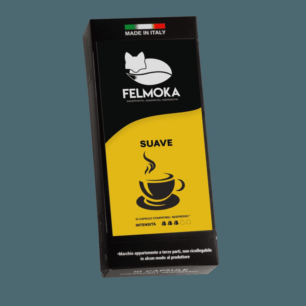 Capsule Suave Compatibili Nespresso conf. da 10 pezzi