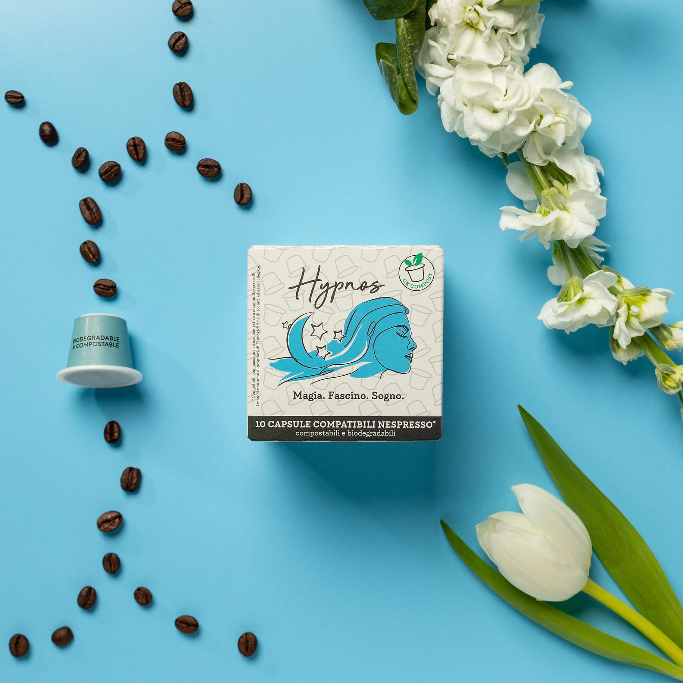 Hypnos – Capsule compostabili compatibili Nespresso